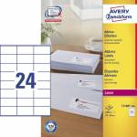 "Adresse-etikett ""Avery"" (70 x 36mm)"